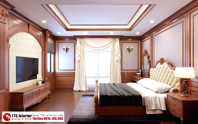 Thiết kế nội thất biệt thự Hoàng Huy Riverside – Anh Đông