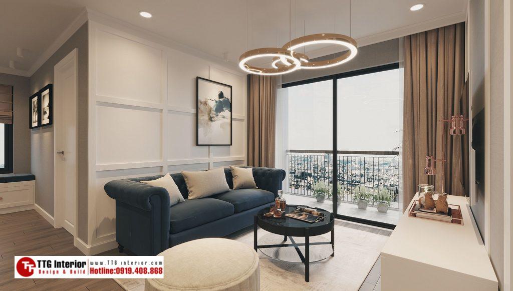 Thiết kế nội thất chung cư cao cấp Vinhomes Ocean Park Gia Lâm