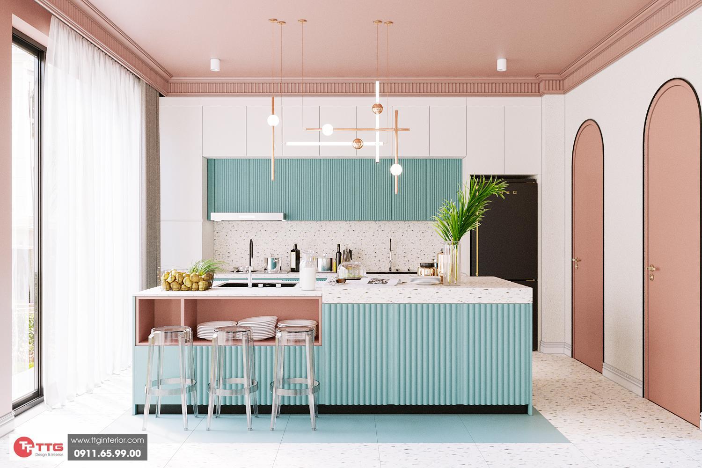 Thiết kế thi công nội thất homestay FLC Hạ Long Quảng Ninh