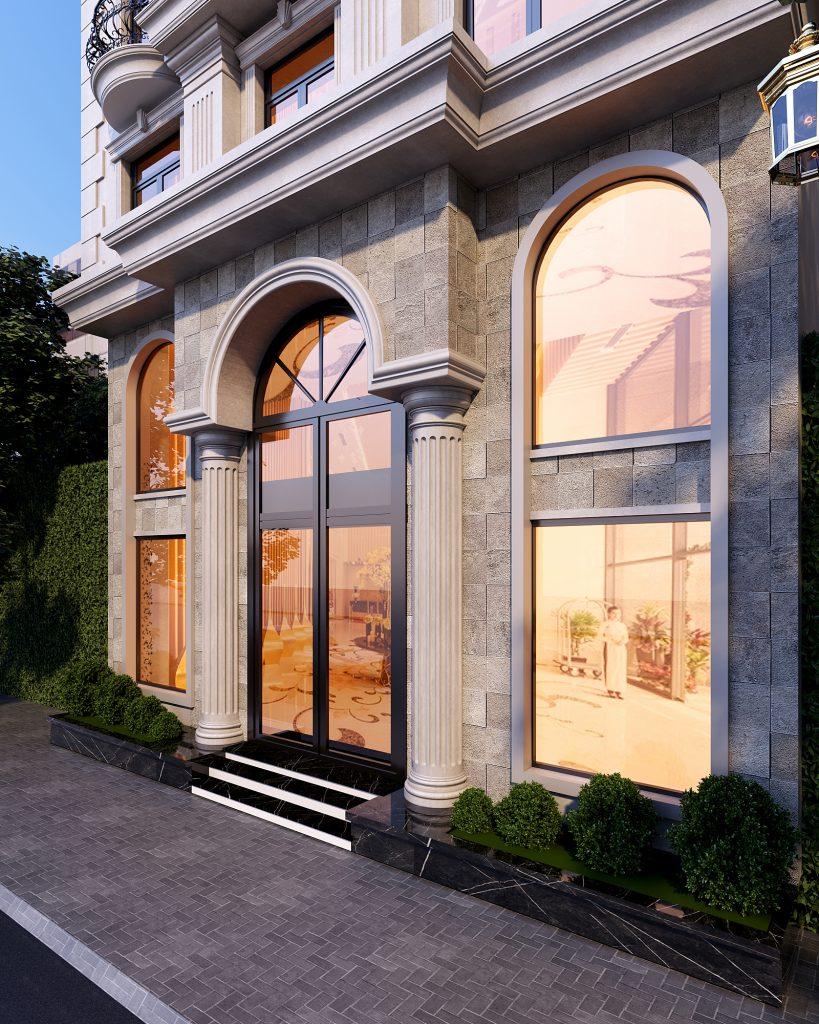 Thiết kế khách sạn Muros Hotel – Văn Cao Hải Phòng