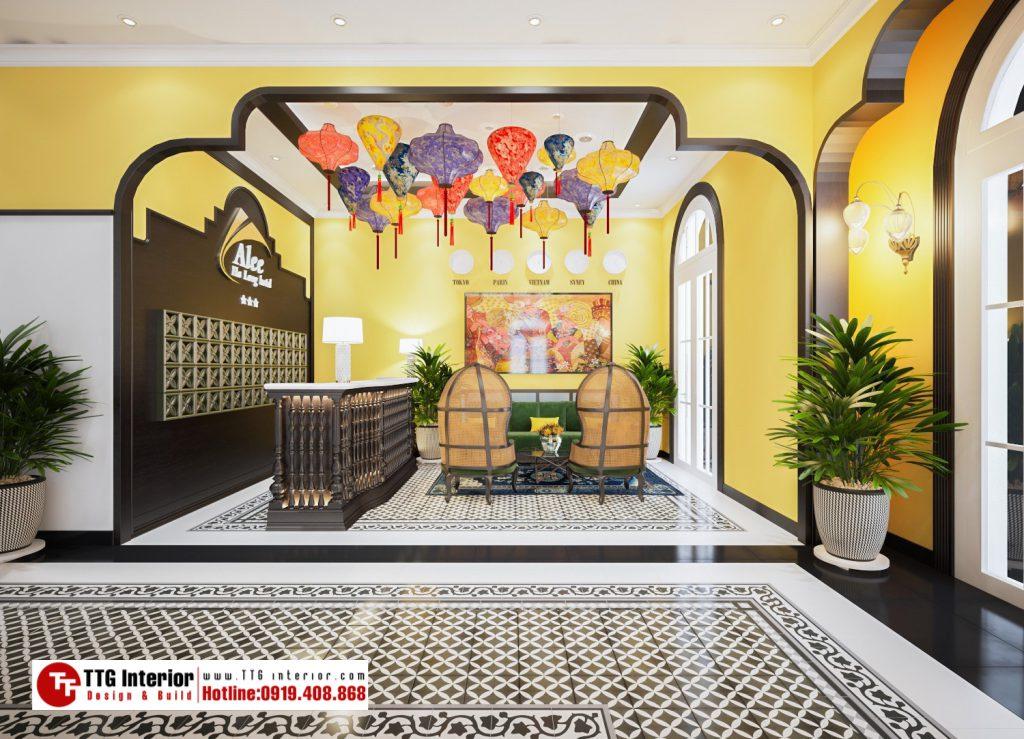 Resort phong cách Indochine – Khách sạn Alee – Hạ Long