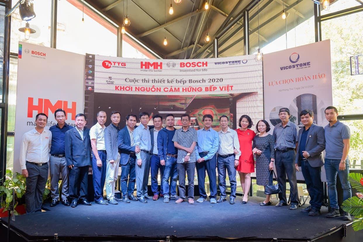 Lễ trao giải cuộc thi thiết kế bếp Bosch 2020