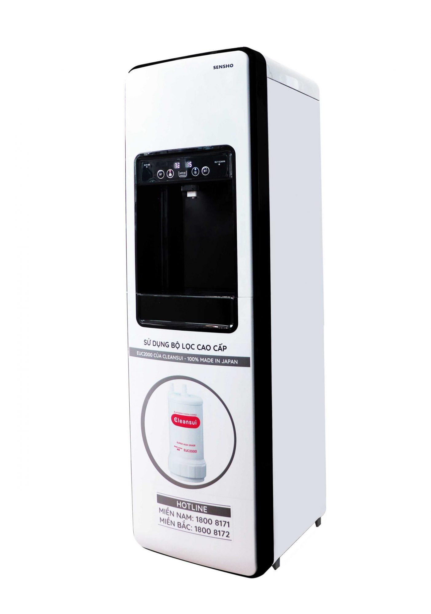Máy lọc nước tích hợp nóng lạnh Sensho