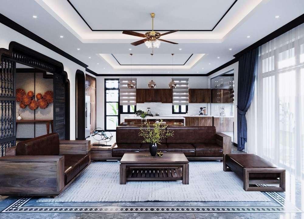 Thiêt kế nội thất phong cách Indochine Vinhomes Imperia