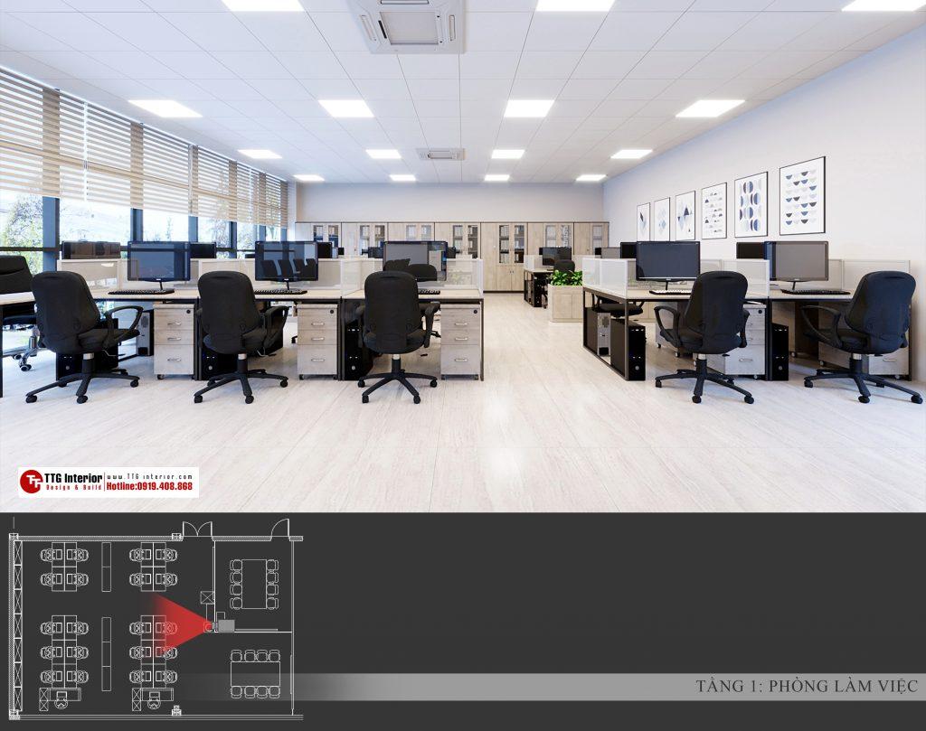 văn phòng công ty Vân Long