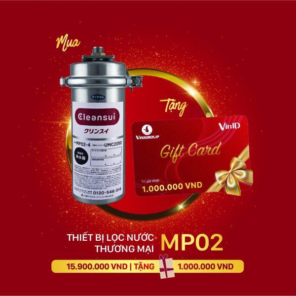 THIẾT BỊ LỌC NƯỚC THƯƠNG MẠI MP02-3