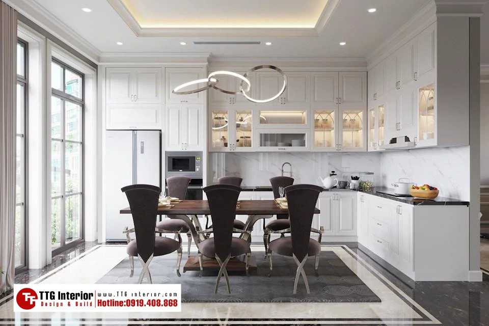 Thiết kế nội thất Boutique House Manhattan – Vinhomes Imperia – Anh H GĐ Cty XDDN