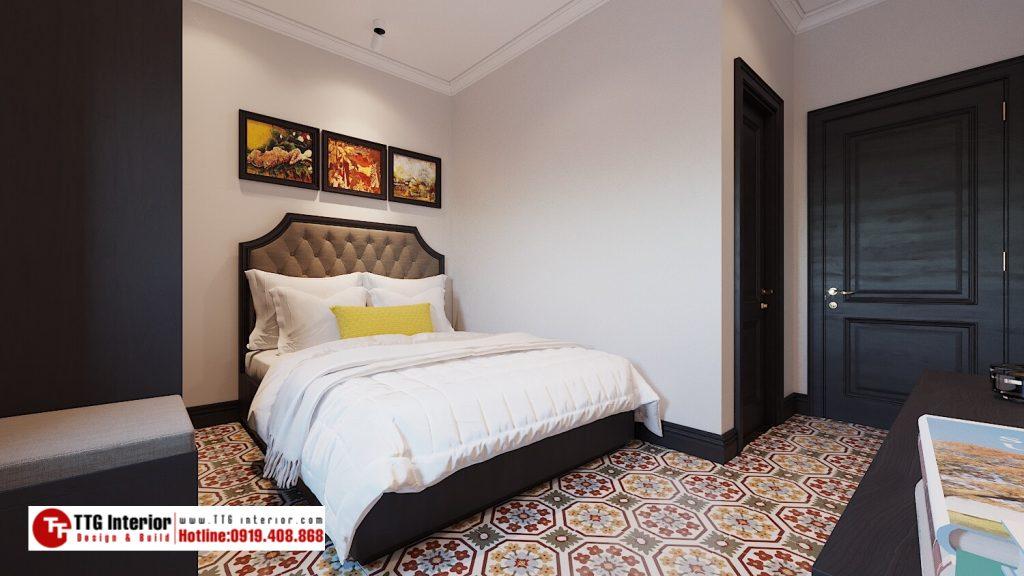 Thiết kế nội thất apartment phong cách Indochine tại Đà Nẵng