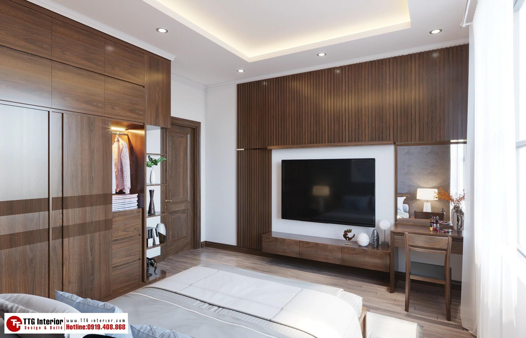Thiết kế nội thất biệt thự anh Hưng Tiên Yên-Quảng Ninh