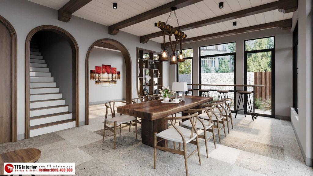 Thiết kế nội thất homestay FLC Hạ Long