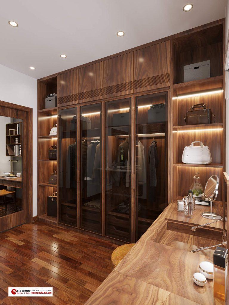 Thiết kế nội thất biệt thự Vinhomes Marina Hải Phòng 2021