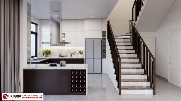 Tủ bếp hiện đại nhà co Nhàn
