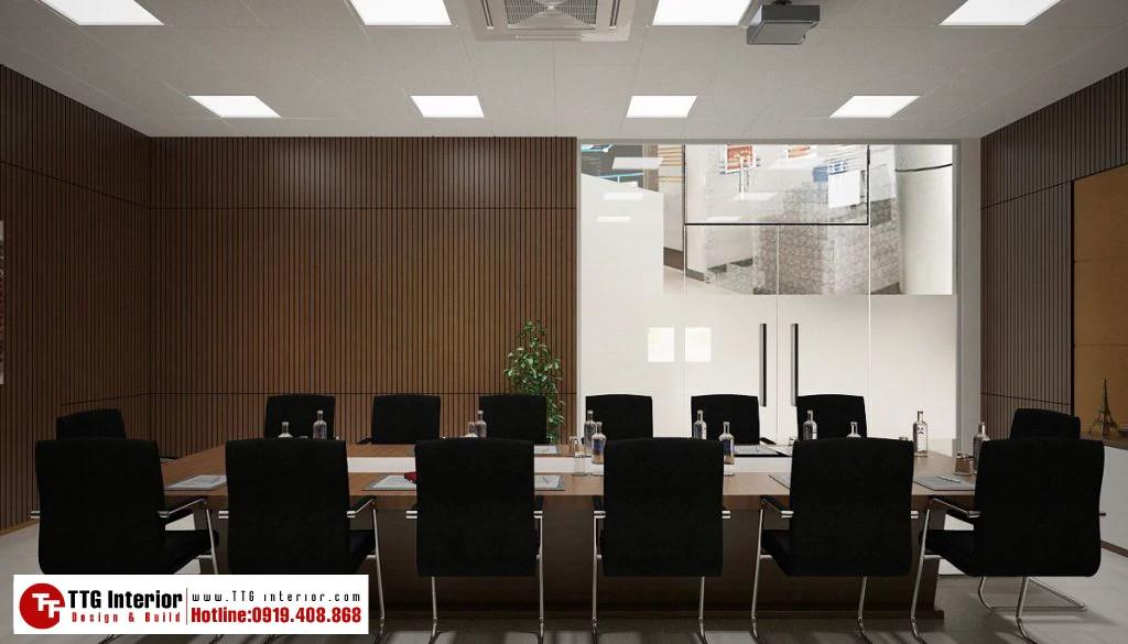 Thiết kế nội thất văn phòng GFT Thái Bình