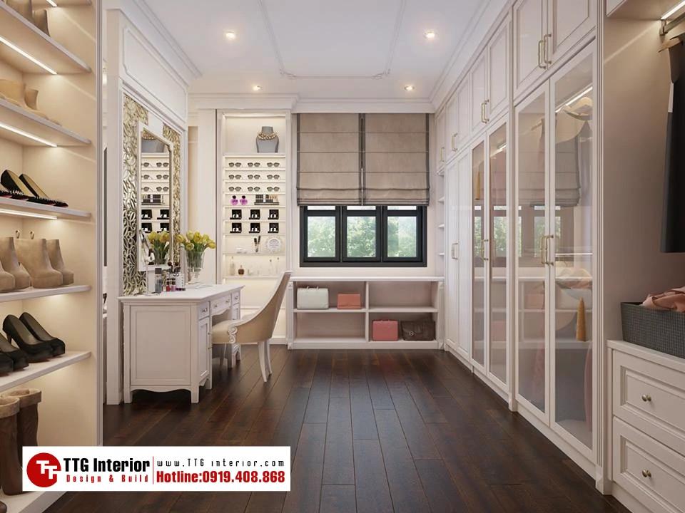Thiết kế nội thất biệt thự Smartland – Venice Vinhomes Imperia Hải Phòng – Nhà chị V.A