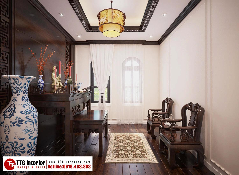 Thiết kế nội thất biệt thự liền kề tân cổ điển Venice Vinhomes Imperia Hải Phòng
