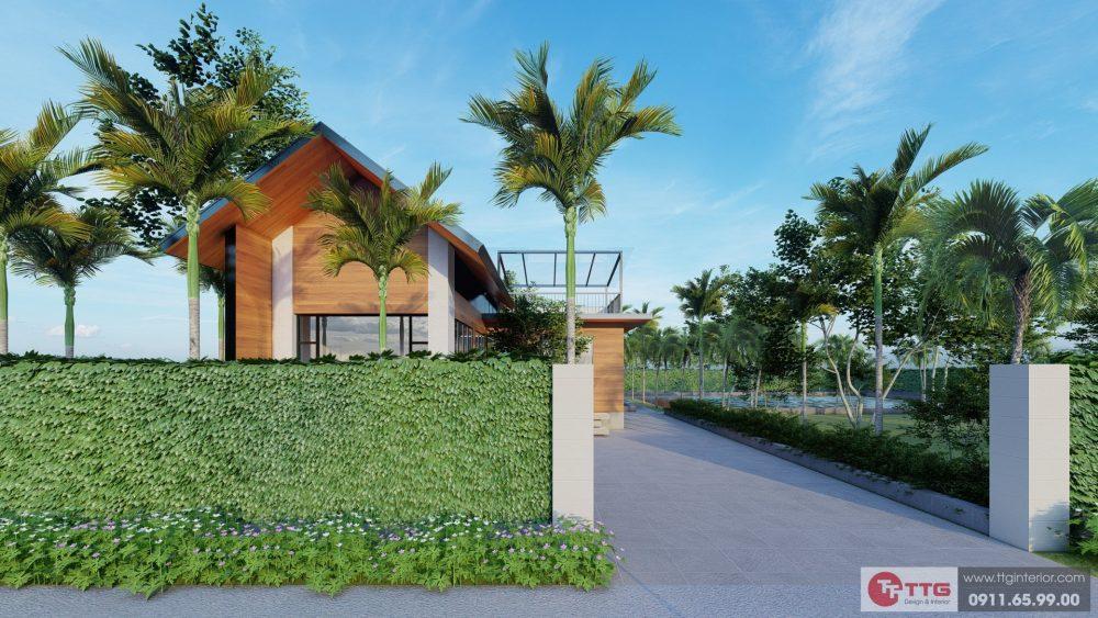 Dự án Nhà Vườn An Đồng - Góc nhìn từ ngoài vào