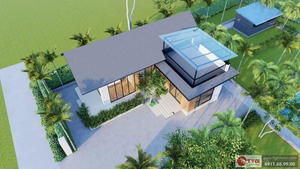 Dự án Nhà Vườn An Đồng - Góc nhìn từ trên cao bao quát