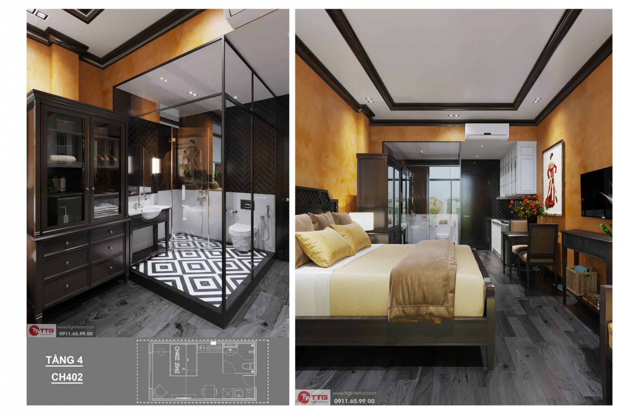 nội thất homestay tại HD Mon Bay Hạ Long