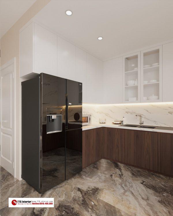 Tủ bếp tiện nghi nâng tầm phong cách sống