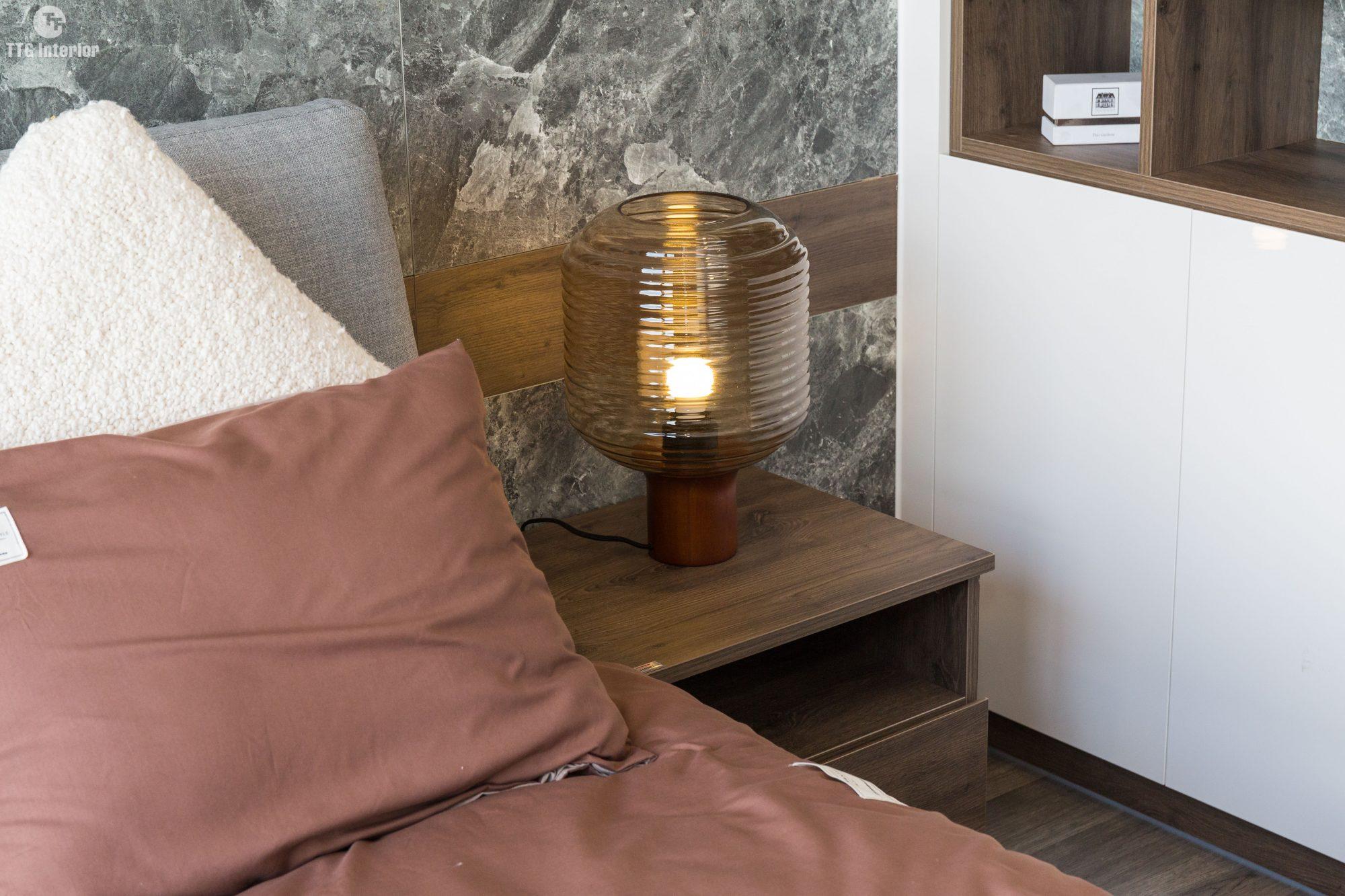 Phòng ngủ master tiện nghi