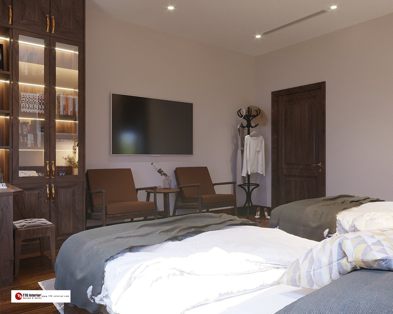 Phòng ngủ giường đôi